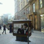Aktionskunst in der Altstadt